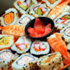Sushi and Japanese food